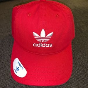 Red Adidas Dad Hat